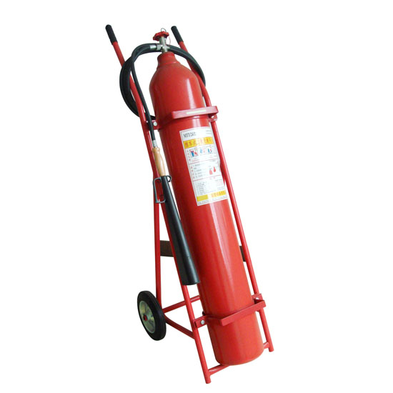 Trolley CO2 Fire Extinguishers
