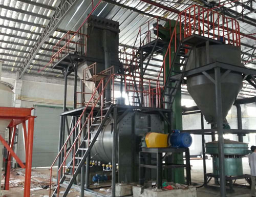 BC dry powder produce equipment