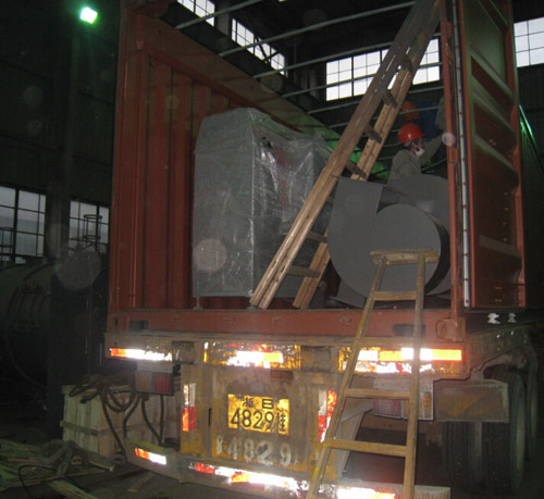 container loading for shipping